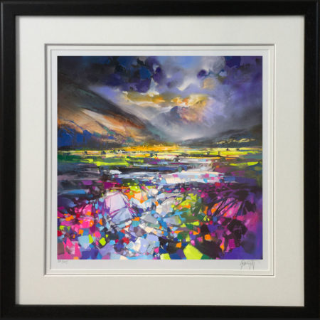 Green Glen by Scott Naismith - black frame