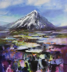 Buachaille Pyramid by Scott Naismith