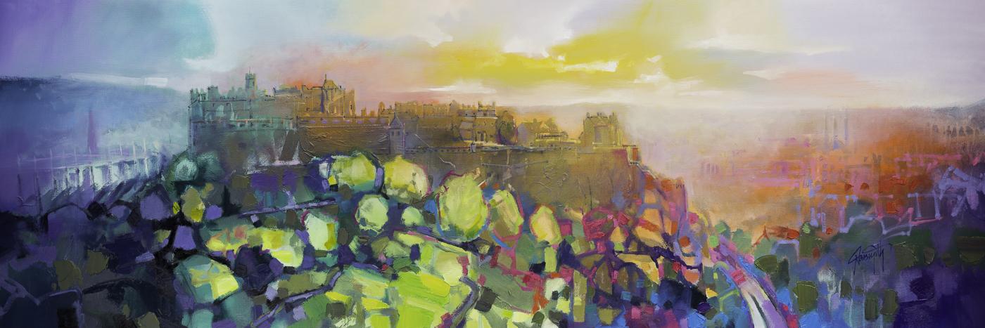 Edinburgh Castle Signed Limited Edition Paper Print