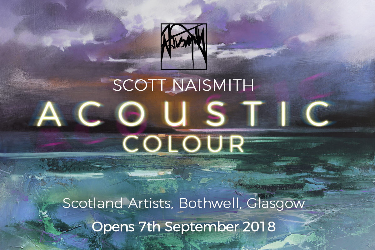 Acoustic Colour Scott Naismith Solo Exhbtn