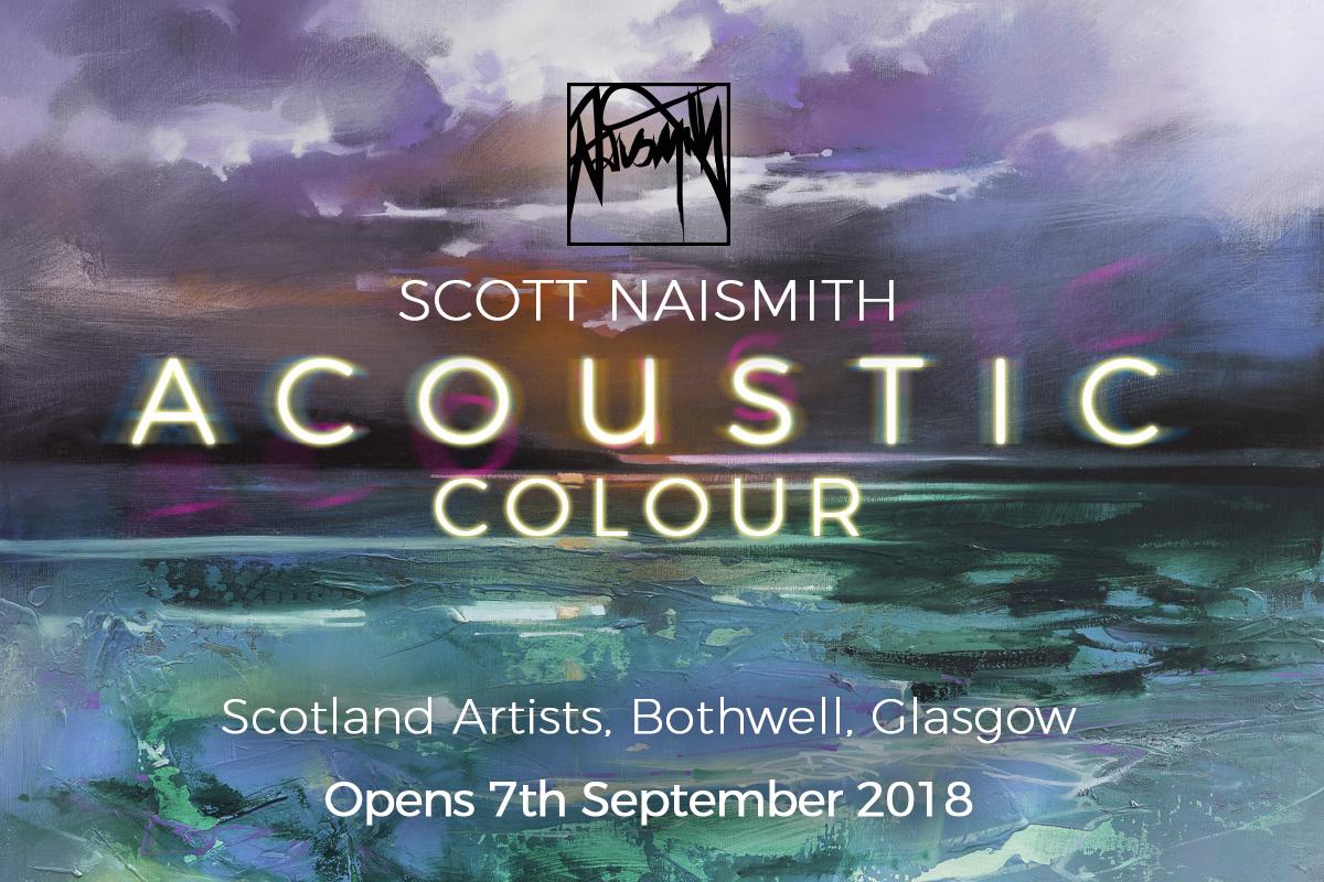 Acoustic Colour Scott Naismith Solo Exhbtn