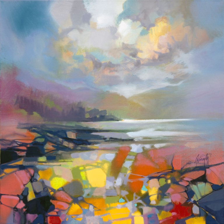 Loch Linnhe Rocks by Scott Naismith