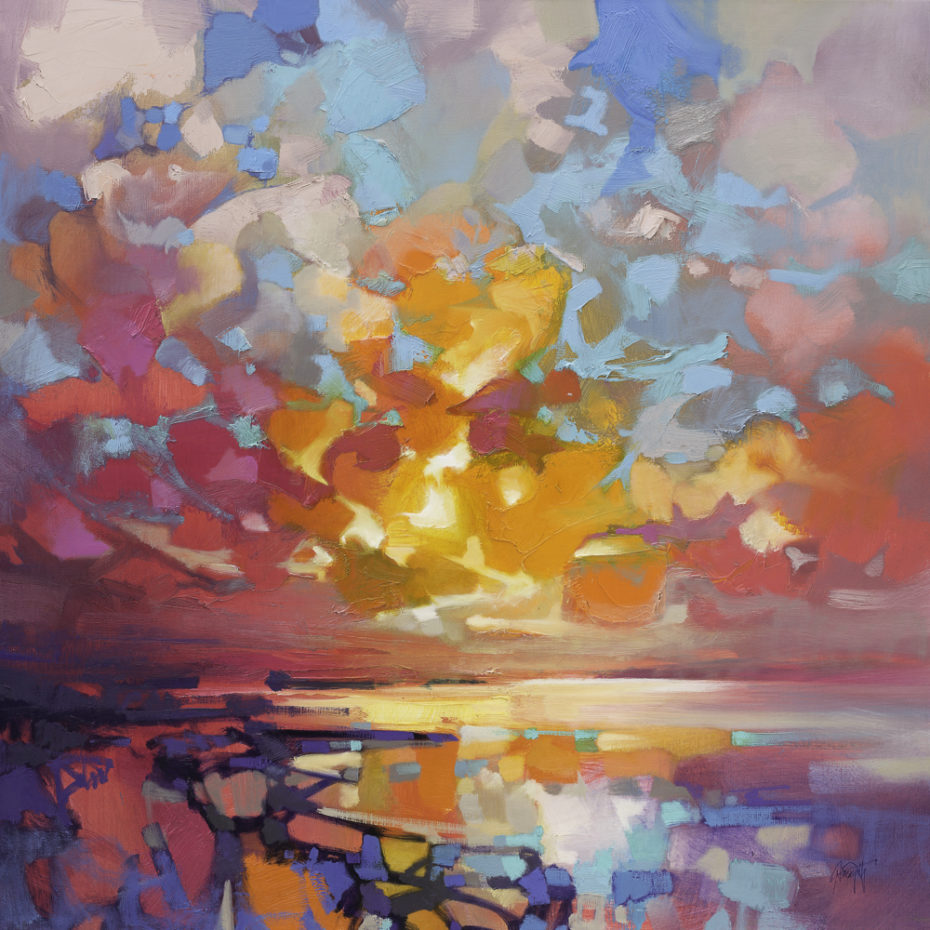 Loch Fyne Fragments 1 by Scott Naismith