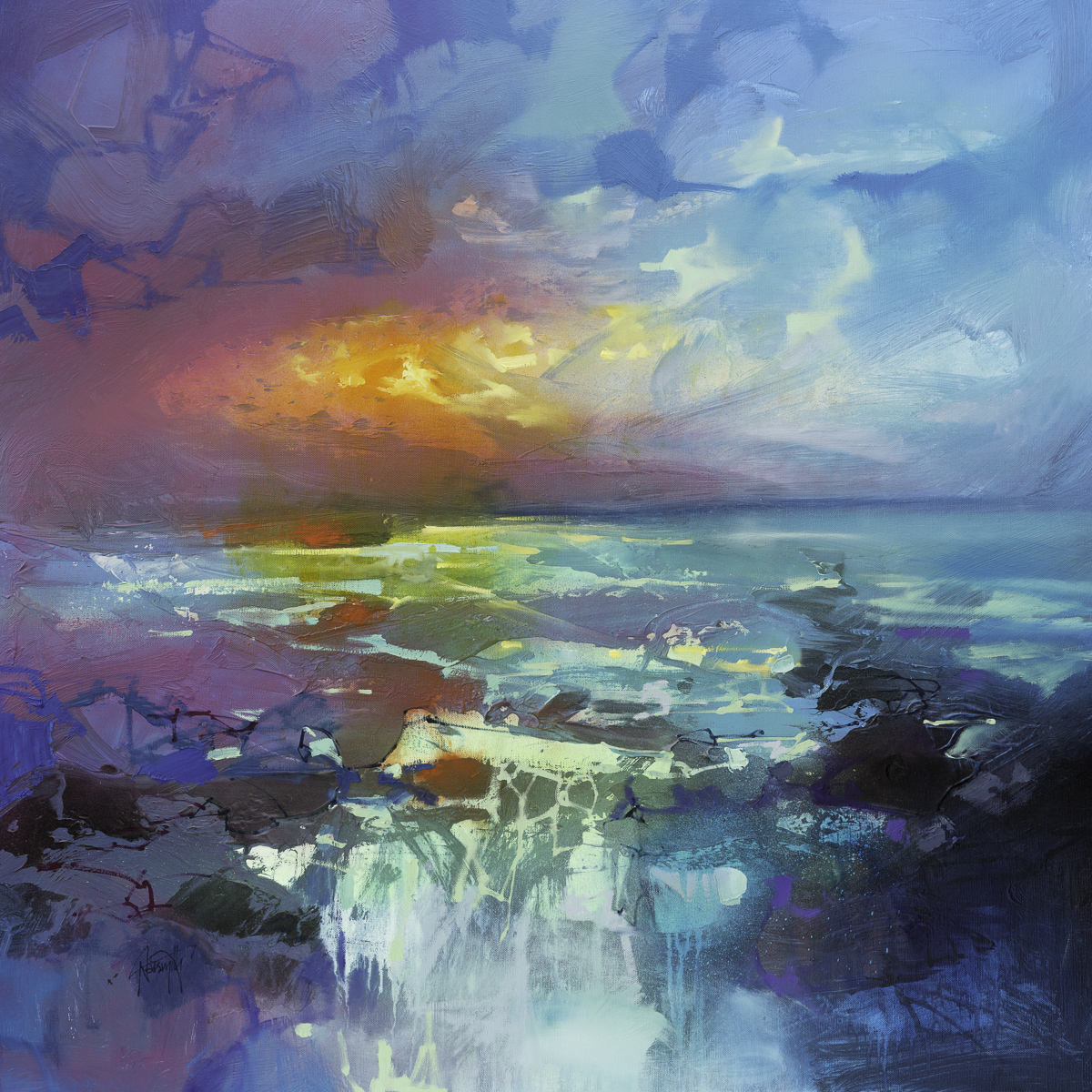 Fleeting Glow by Scott Naismith