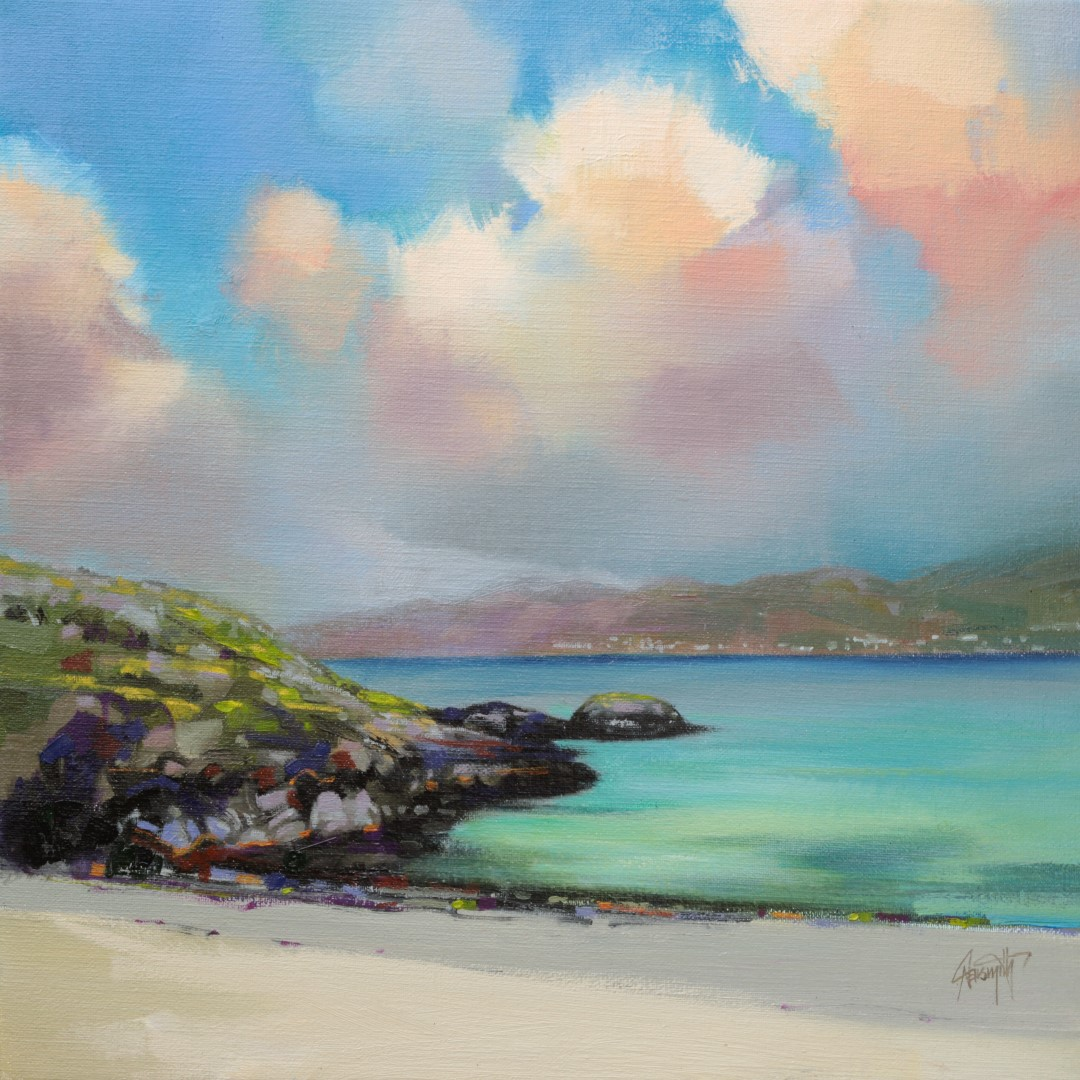 Castlebay from Vatersay by Scott Naismith