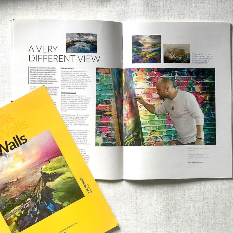 Four Walls - Scott Naismith article