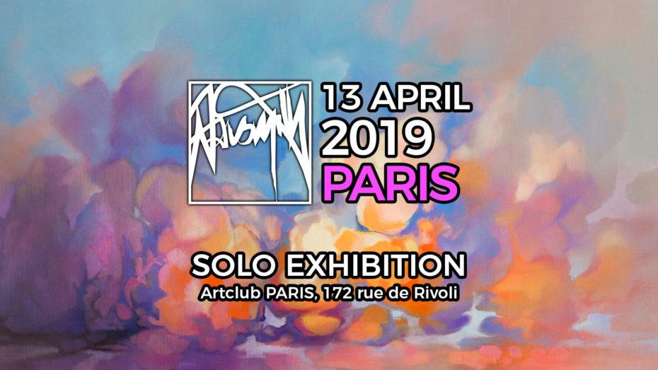 Scott Solo Exhibition Paris April 2019