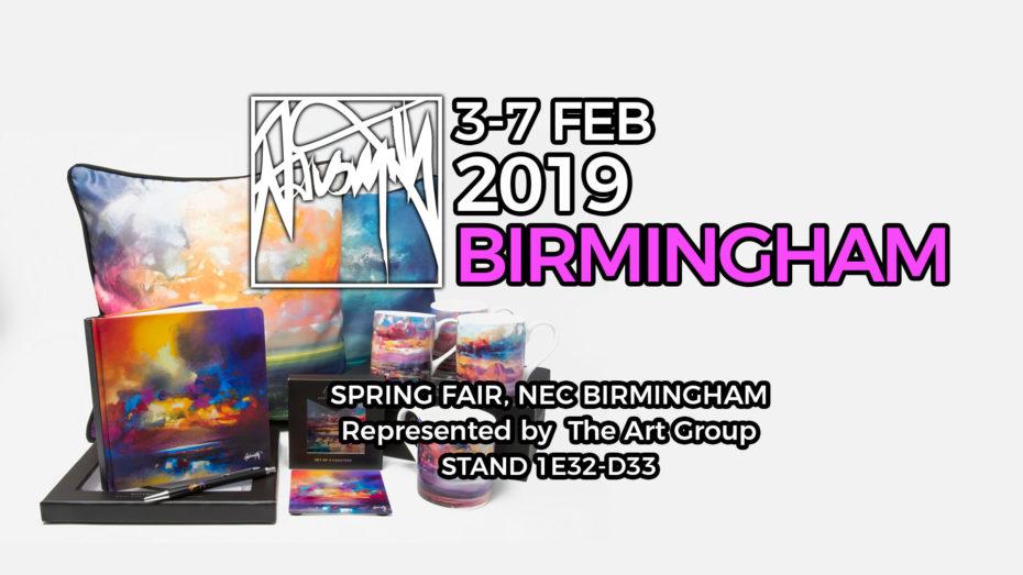 Spring Fair Products Launch Feb 2019