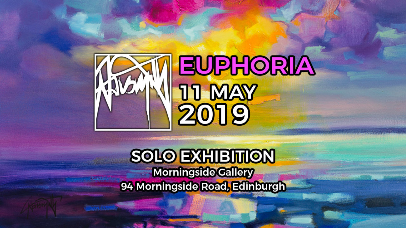 EUPHORIA Edinburgh solo show May 19