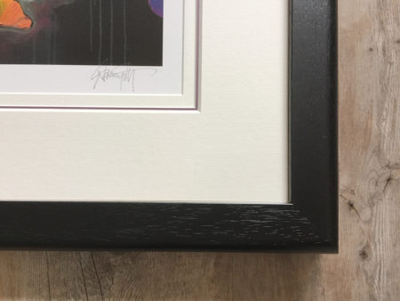 Frame close up black 1