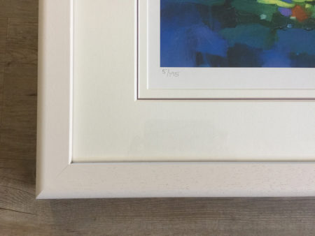 Frame close up white 1