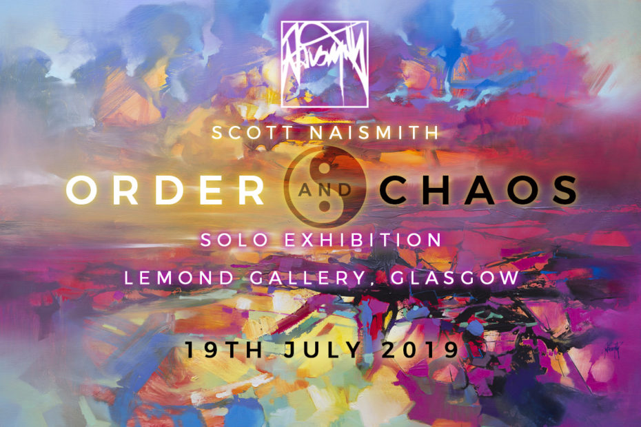 Order + Chaos Scott Naismith solo exhibition