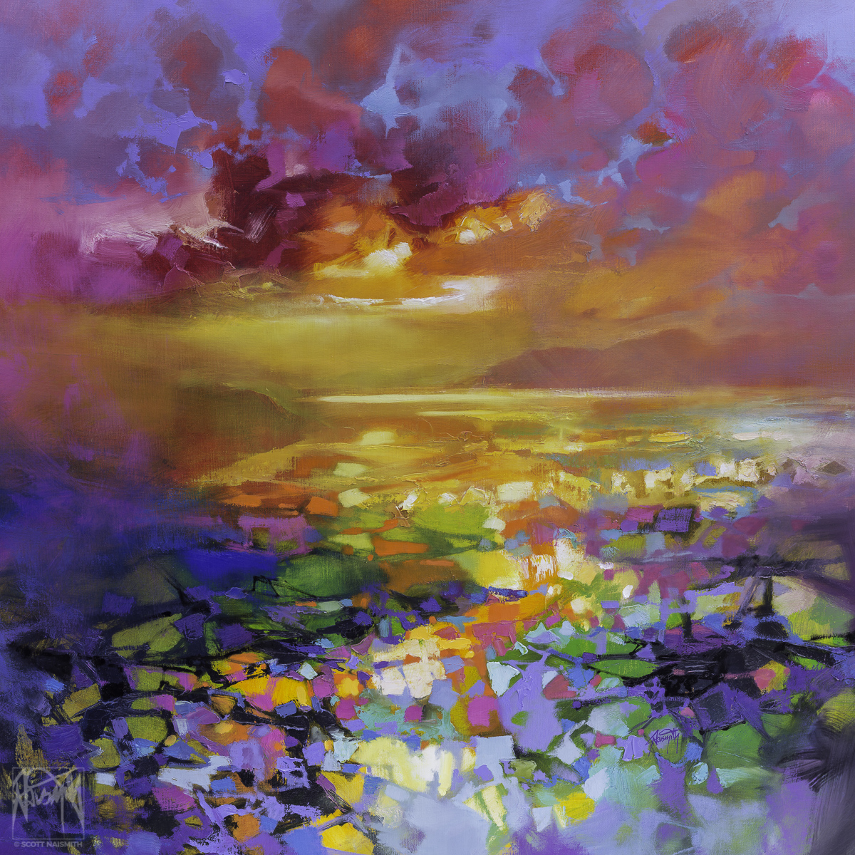 'Colour Frequency I' by Scott Naismith