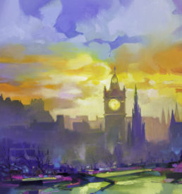 Calton Hill by Scott Naismith