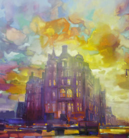 North Bridge Edinburgh by Scott Naismith