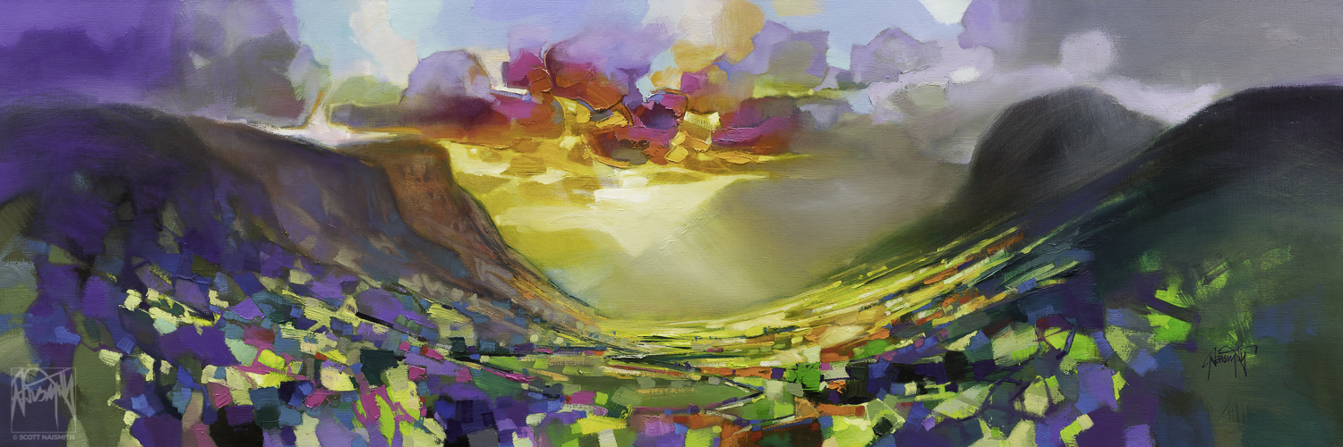 'The West Highland Tao' | Oil on Linen | by Scott Naismith
