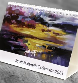A5 Scott Naismith Desktop Calendar