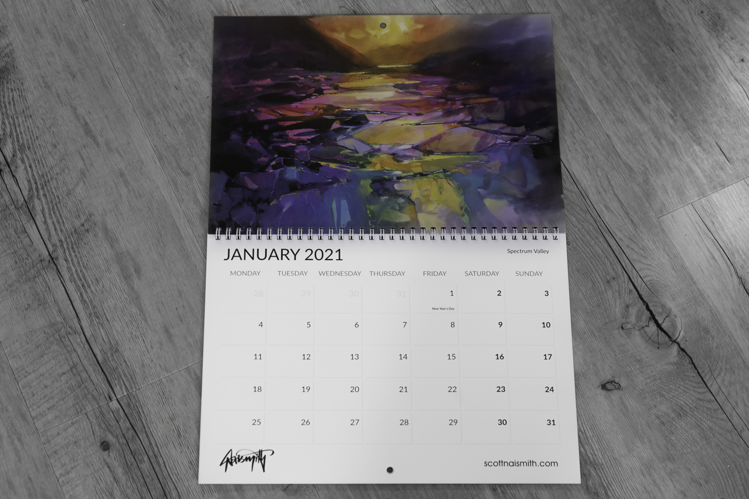 Link to buy Wall Calendar