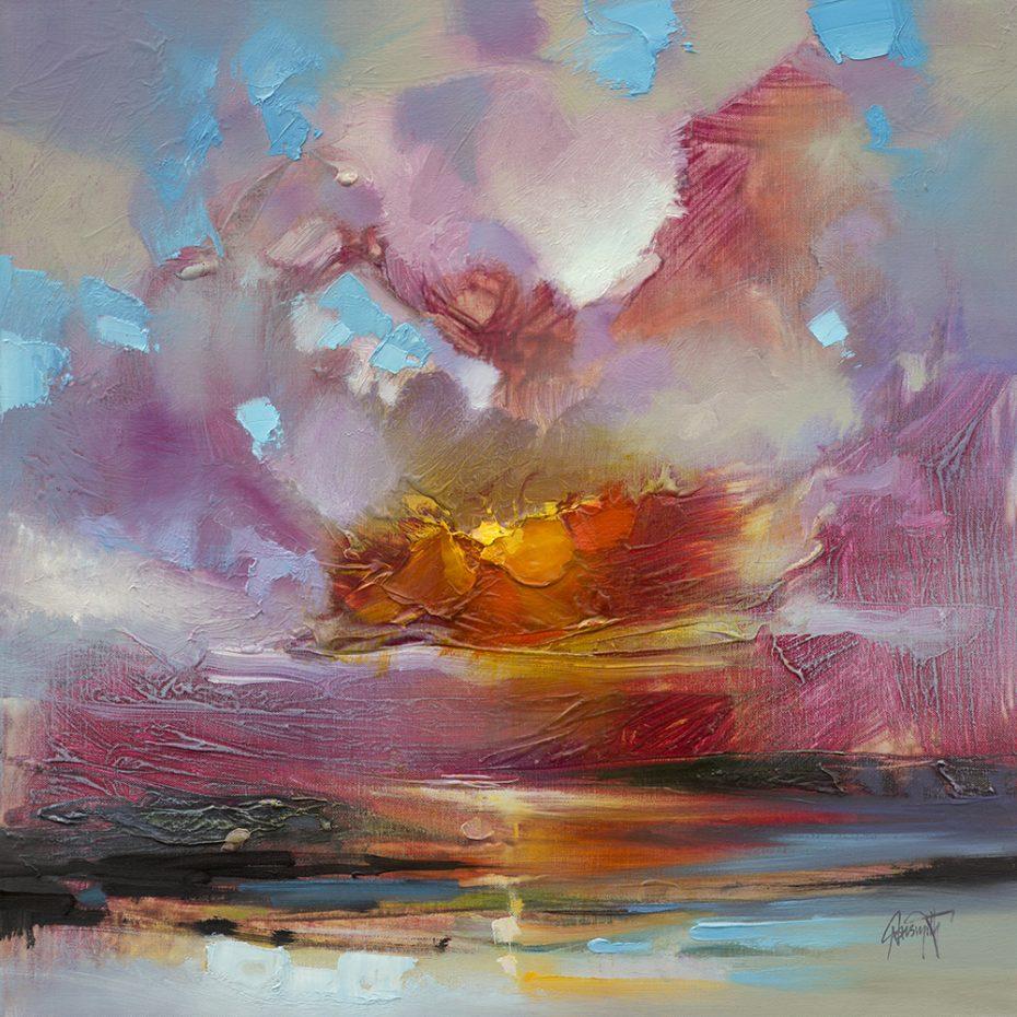 'Crimson Glow' by Scott Naismith